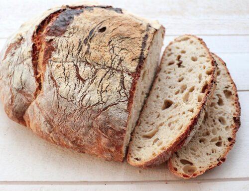 Recette Pain au levain naturel – Farine de blé Bio T65 – pour 500gr de farine