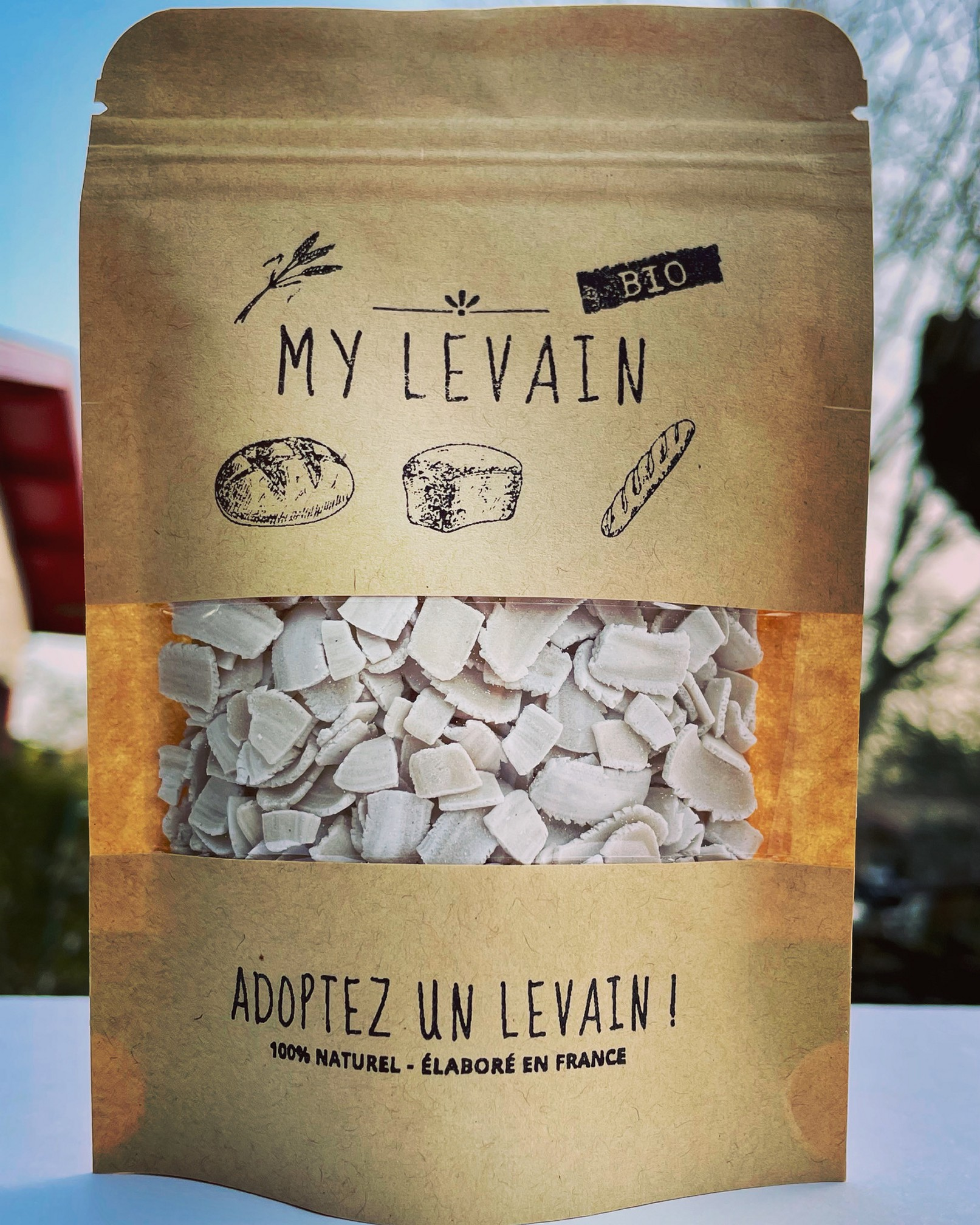 levain naturel bio local français box kit pain maison